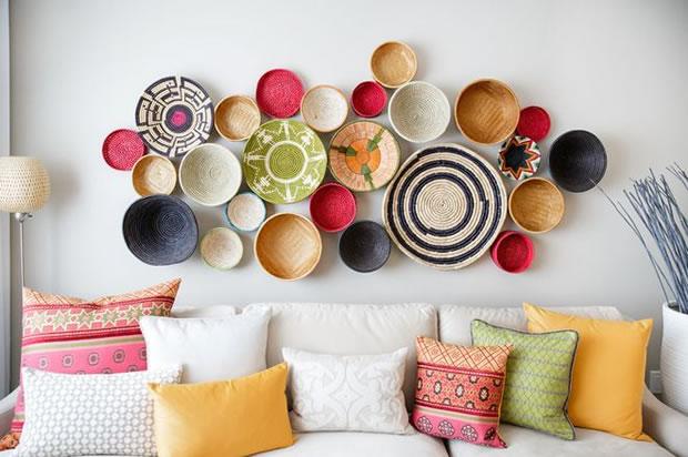Decora tu hogar con canastos de estilo tnico for Adornos decorativos para el hogar