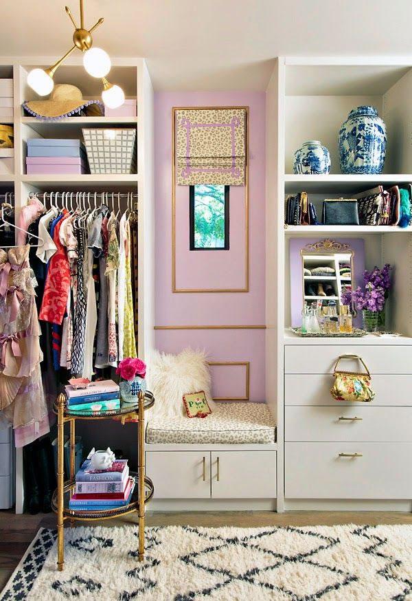 Ideas de cl set y vestidores s per glam for Disenos de roperos para dormitorios pequenos
