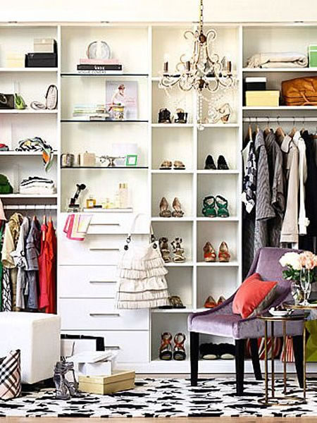 Ideas de cl set y vestidores s per glam - Muebles para guardar zapatos ikea ...