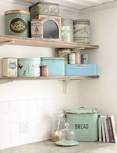 Detalles vintage para la cocina Home decor hacks pinterest