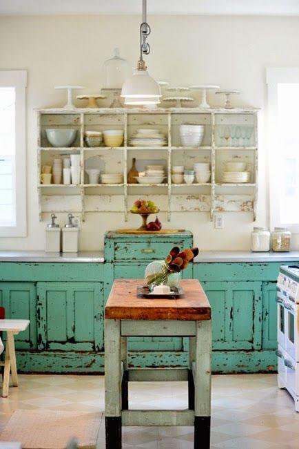 Detalles vintage para la cocina for Cocinas vintage modernas