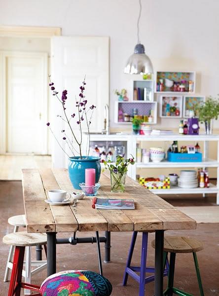 Propuestas para decorar con materiales reciclados for Ideas decorativas para habitaciones