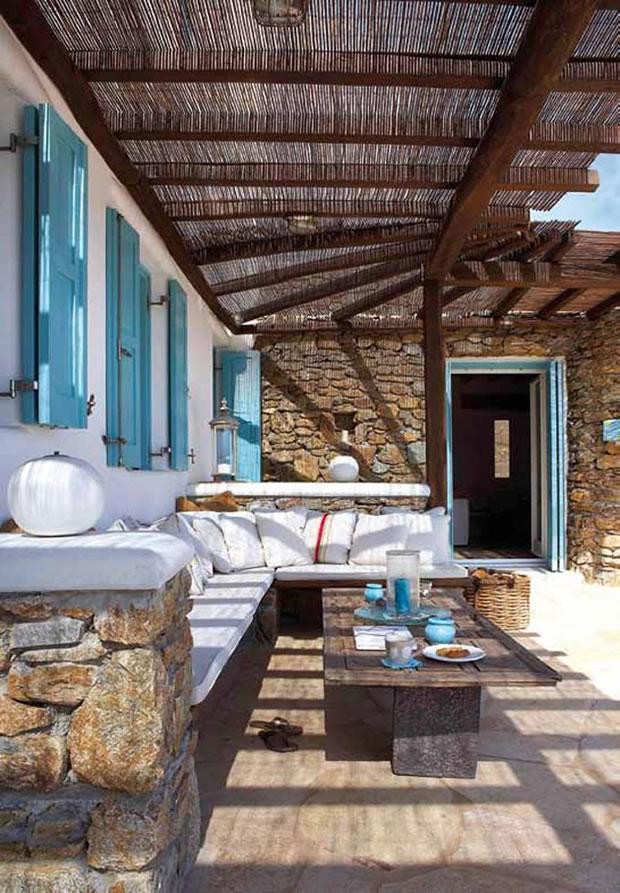 Terrazas cubiertas terraza cubierta con vistas al jardn trabajos realizados por pintamar - Cubiertas para patios interiores ...