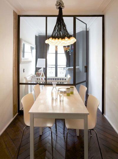 Separa ambientes con mamparas y paneles acristalados - Cerramientos de cristal para cocinas ...