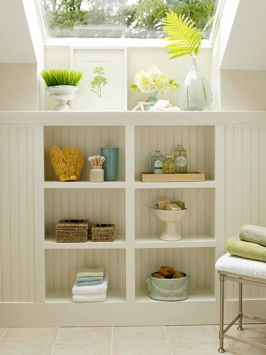 Cuartos de ba o peque os y elegantes - Decoracion de cuartos de bano pequenos ...