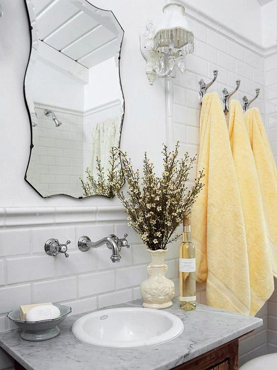 Baño Elegante Pequeno:baños pequeños , cuartos de baño , ideas baños
