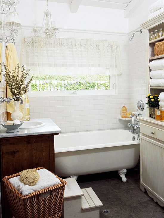 Cuartos de ba o peque os y elegantes - Ideas para cuartos de banos pequenos ...
