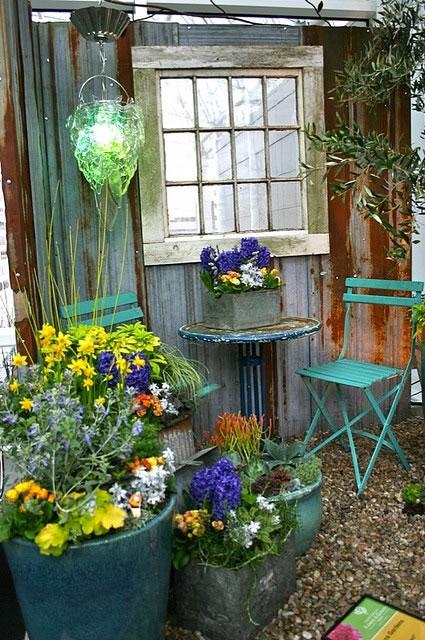 Gentil Espejos En El Jardín 7