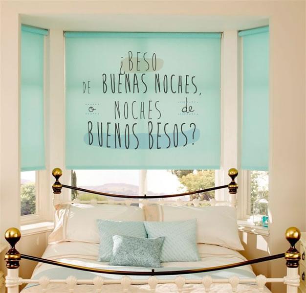 Tendencia de moda personalizar las ventanas - Estores para habitaciones infantiles ...