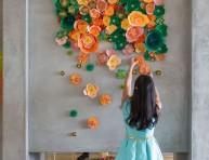 imagen Anímate a decorar con flores de papel