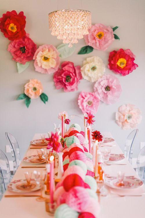 An mate a decorar con flores de papel - Decorar con papel ...