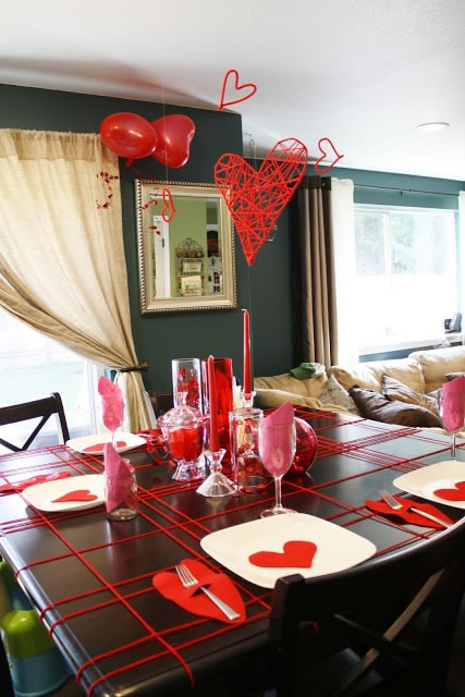 San valent n ideas decorativas para una fecha especial - Ideas para cena rapida sencilla ...