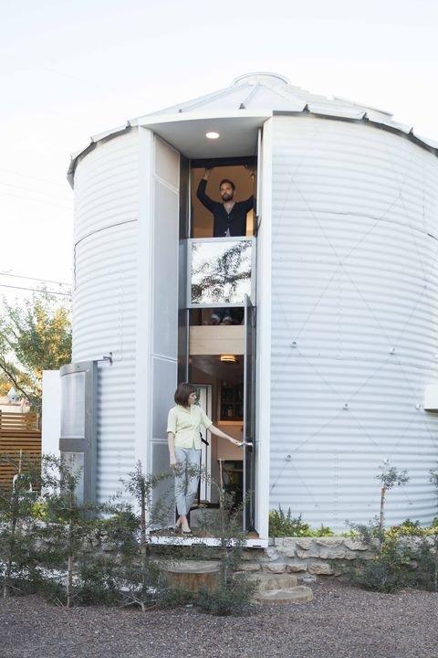 Casa en un silo 1