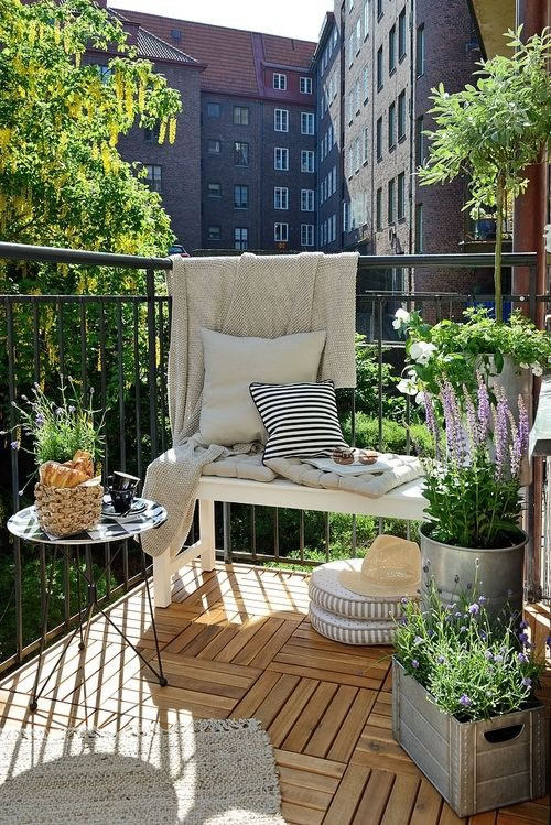 Ideas para decorar galer as y balcones for Como cerrar un balcon