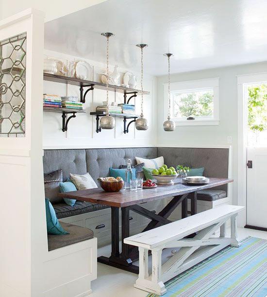 11 ideas para un comedor de diario con estilo for Cocinas con comedor de diario