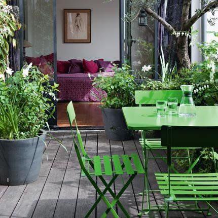 23 ideas para disfrutar con estilo de tu espacio exterior. Black Bedroom Furniture Sets. Home Design Ideas