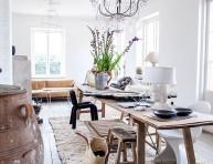 imagen Mesas de estilo rústico con maderas recicladas