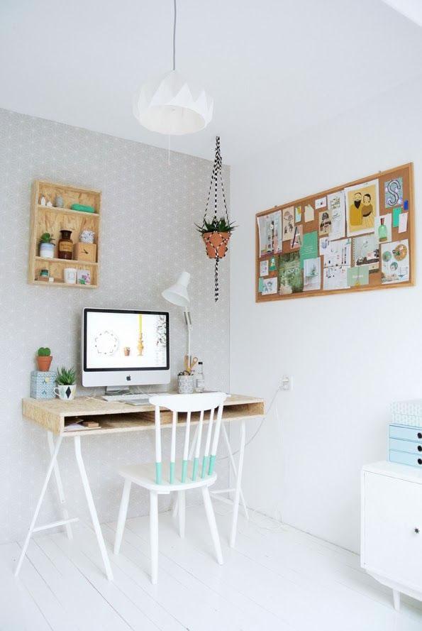 Ideas para tener una perfecta oficina en casa for Decoracion para escritorios de oficina