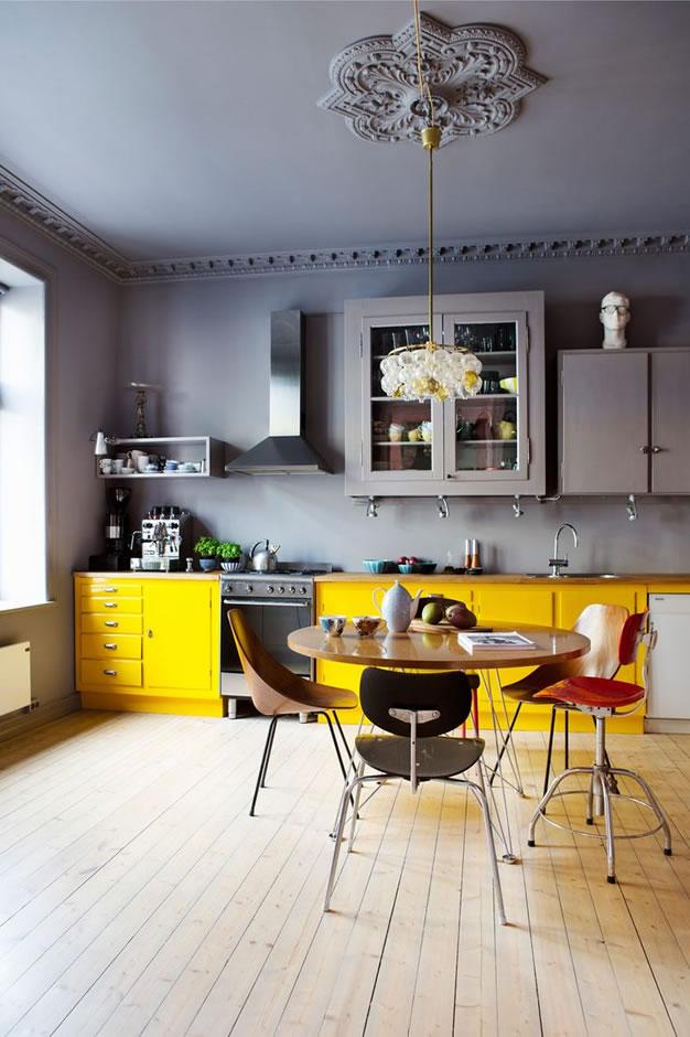 Cocinas a todo color: elige tu estilo
