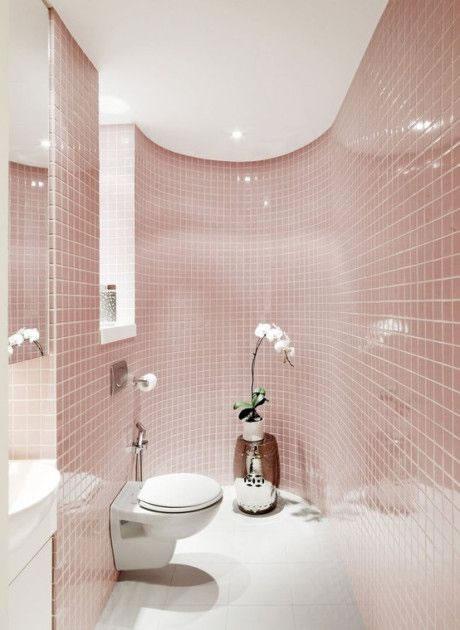 Ideas para tener un ba o en color rosa - Como pintar mi piso moderno ...