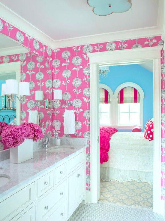 Baños Rosas   Ideas Para Tener Un Bano En Color Rosa
