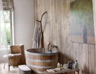 imagen Ideas para tener un baño de estilo rústico