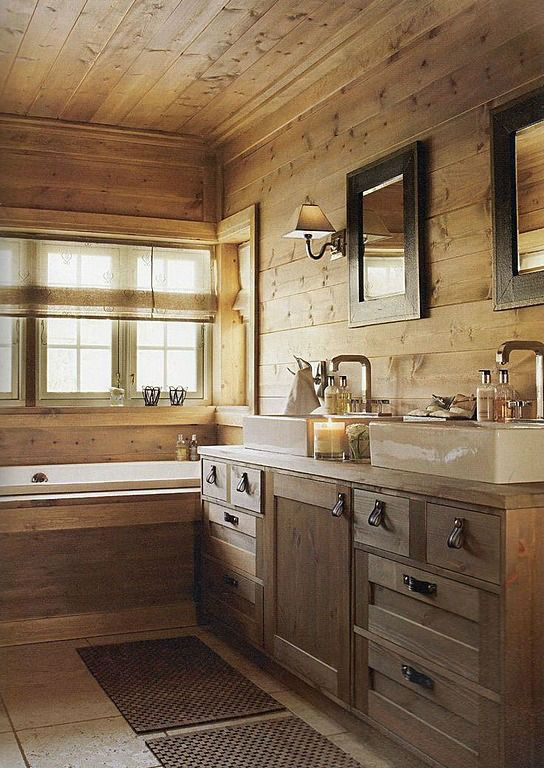 Ideas para tener un baño de estilo rústico on Contemporary:kkgewzoz5M4= Small Bathroom Ideas  id=98600