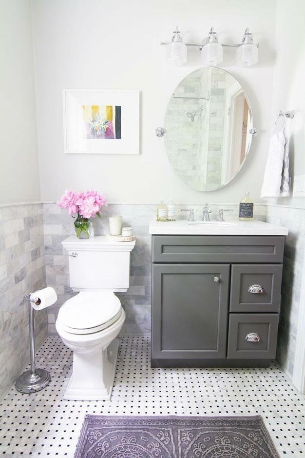 Estilo Baños Pequenos:Un baño pequeño también puede tener estilo Artículo Publicado el