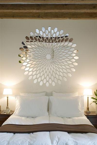 21 ideas para decorar con espejos - Objetos decorativos para salon ...