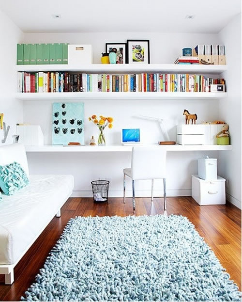 17 ideas para decorar con estanter as - Ideas para estanterias ...