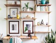 imagen 17 ideas para decorar con estanterías