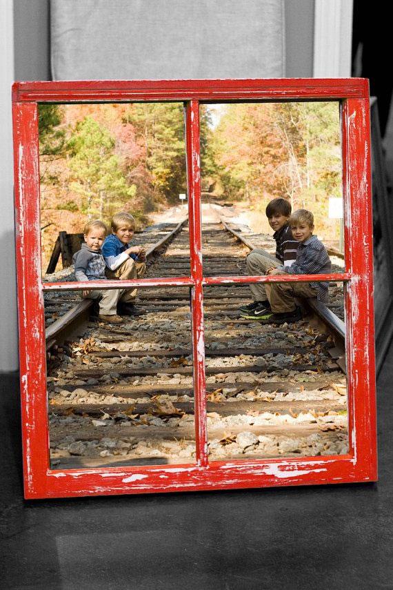 19 propuestas para decorar con ventanas viejas