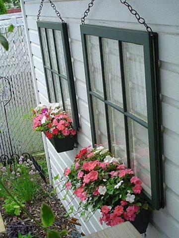 decoracin con ventanas