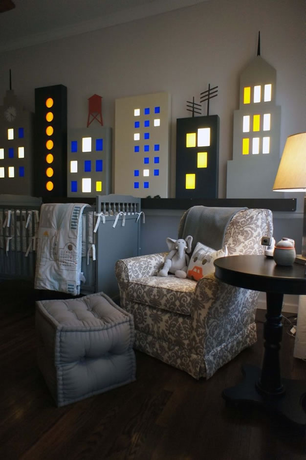 Preciosas y coloridas habitaciones para peques for 3d baby room design