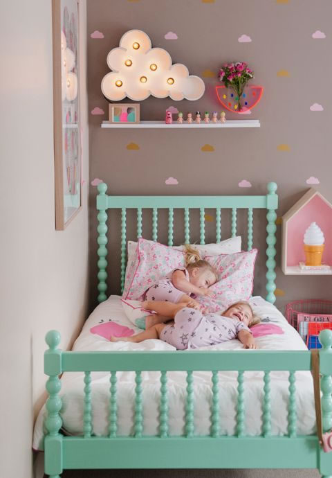 Preciosas y coloridas habitaciones para peques for Little kids room