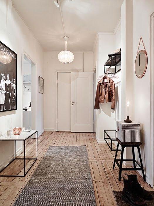 12 ideas para decorar y transformar el pasillo for Idee casa minimalista