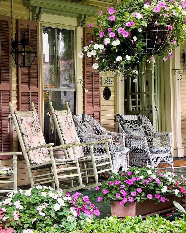 Ideas porche 5 gu a para decorar - Decorar pared porche ...