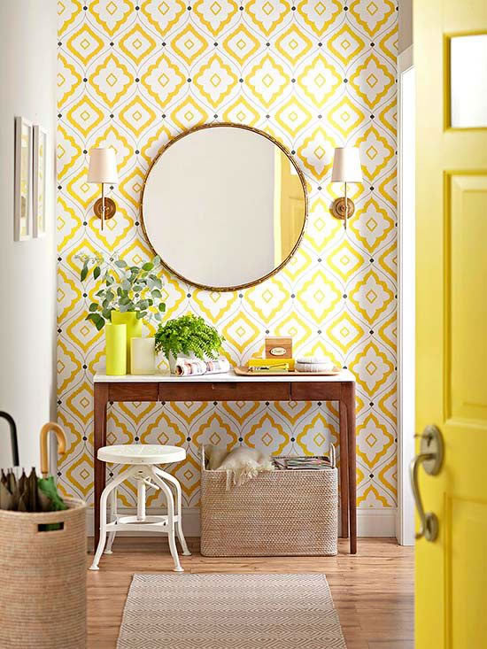 Decorar con amarillo 1