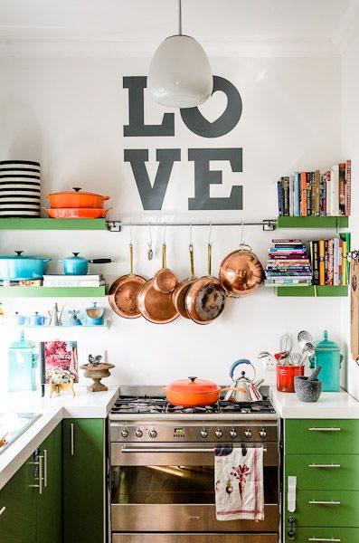 Ten una cocina pequeña y funcional