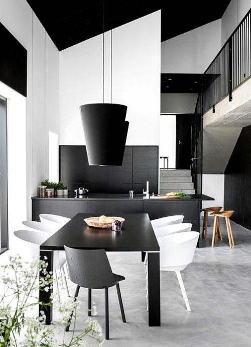 15 comedores de estilo minimalista para no perderse Decoracion de interiores estilo minimalista