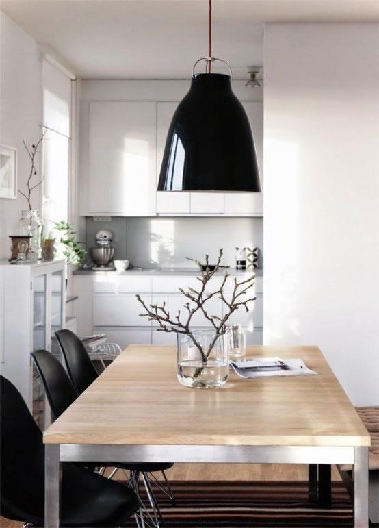 15 comedores de estilo minimalista para no perderse for Comedor minimalista de madera