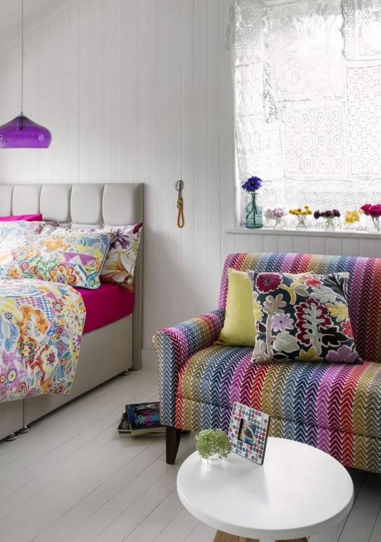 Dormitorios boho chic 1 for Decoracion bohemia vintage