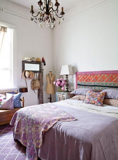 19 preciosas habitaciones en estilo boho chic for Dormitorio boho