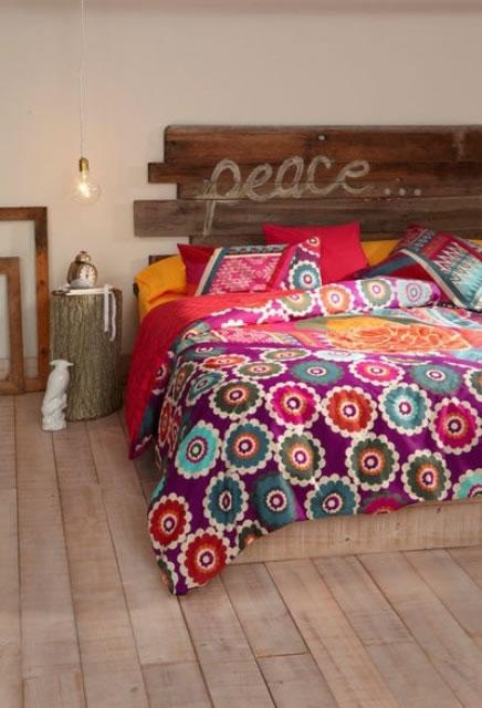 19 preciosas habitaciones en estilo boho chic - Decoracion hippie habitacion ...