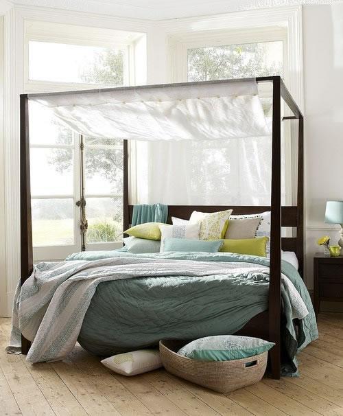 19 preciosas habitaciones en estilo boho chic - Doseles de cama ...