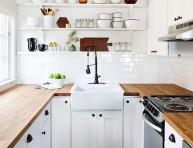 imagen Por qué tener una mesada de madera en la cocina