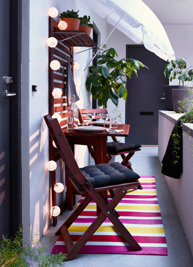 13 ideas de balcones ikea - Ideas decoracion ikea ...