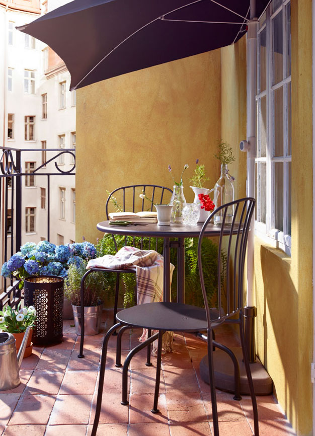 13 ideas de balcones ikea