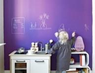 imagen 16 habitaciones infantiles decoradas con pintura pizarra