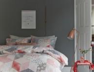 imagen 16 ideas para decorar en color gris y coral